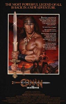 Conan, a barb�r 2. - A puszt�t� (1984) online film