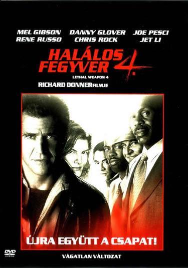 Halálos fegyver 4 (1998) online film