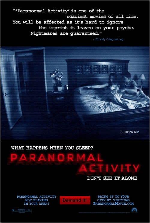 Paranormális aktivitás (2007) online film