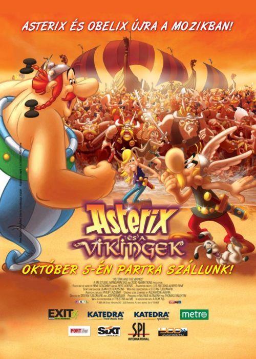 Asterix és a vikingek (2006) online film
