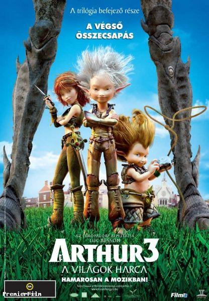Arthur 3 - A vil�gok harca (2010)