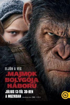 A majmok bolygója: Háború (2017) online film