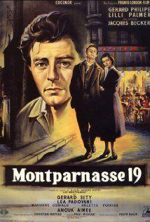 A Montparnasse szerelmesei (1958) online film