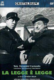 A törvény az törvény (1958) online film