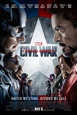 Amerika Kapitány: Polgárháború (2016) online film