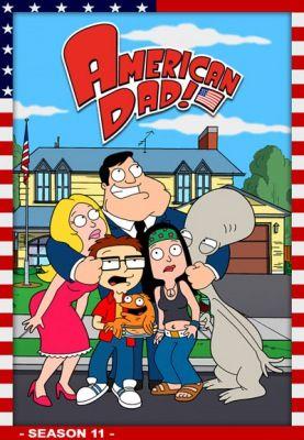 Amerikai fater (American Dad!) 11. évad (2005) online sorozat