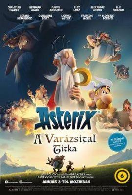 Asterix: A varázsital titka (2018) online film