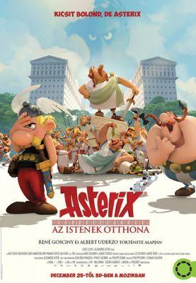 Asterix: Az istenek otthona (2014) online film