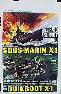 Az X-1-es tengeralattjáró (1969) online film
