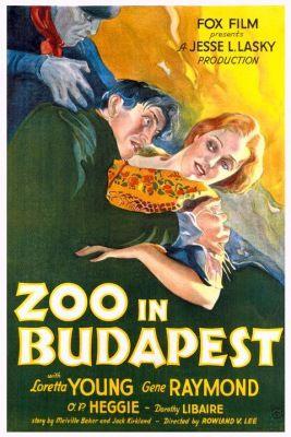 Budapesti állatkert (1933) online film