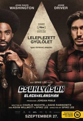 Csuklyások – BlacKkKlansman (2018) online film