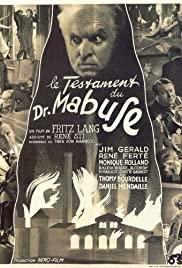 Dr. Mabuse végrendelete (1933) online film