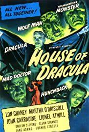 Drakula háza (1945) online film