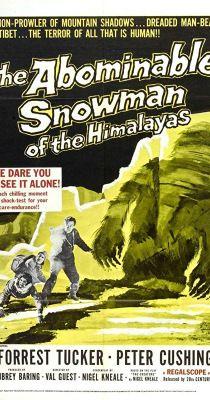 Förtelmes havasi ember (1957) online film