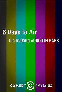 Hat nap adásig: Így készül a South Park (2011) online film