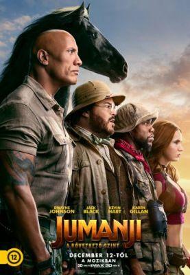 Jumanji - A következő szint (2019) online film