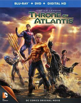 Az Igazság Ligája: Atlantisz trónja (Justice League: Throne of Atlantis) (2015) online film
