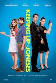 Kémek a szomszédban (Keeping Up with the Joneses) (2016) online film