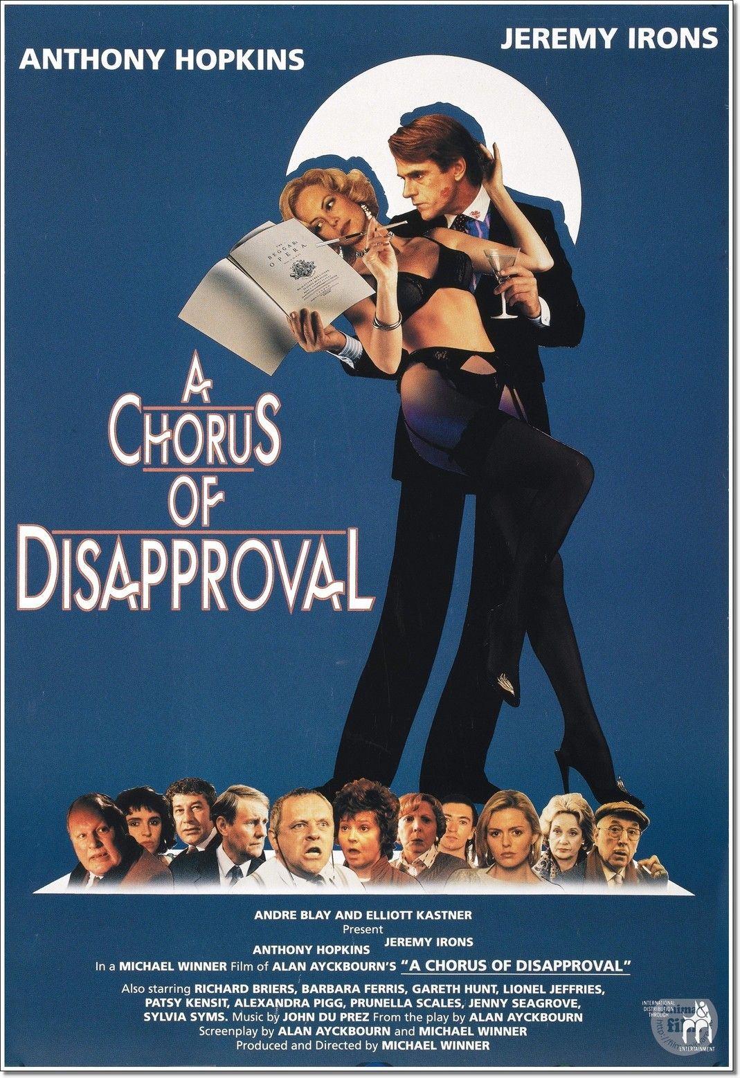 Kisvárosi komédia (A Chorus of Disapproval) (1989) online film