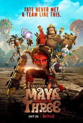Maya és a három harcos 1. évad (2021) online sorozat