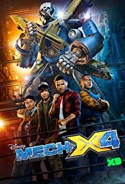Mech-X4 1. évad (2016) online sorozat