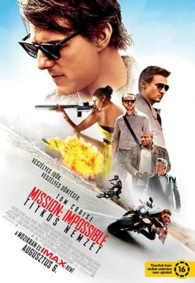 Mission: Impossible - Titkos nemzet (2015) online film