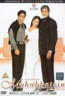 Mohabbatein - Szerelmes történetek (2000) online film