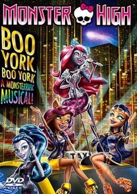 Monster High: Boo York, Boo York (2015) online film