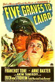 Öt lépés Kairó felé (1943) online film