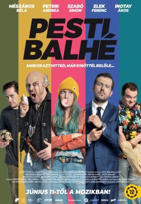 Pesti balhé (2020) online film