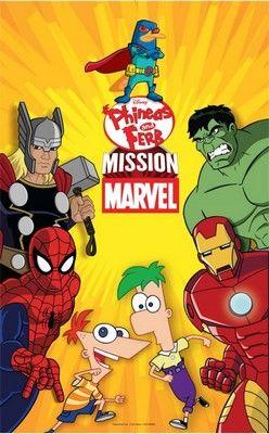 Phineas és Ferb Marvel küldetés (2013) online film
