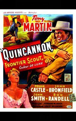 Quincannon, a határőr (1956) online film
