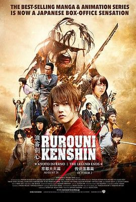 Rurouni Kenshin: A legenda vége (2014) online film