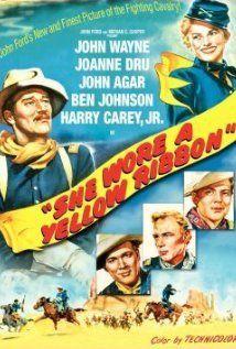 Sárga szalagot viselt (1949) online film