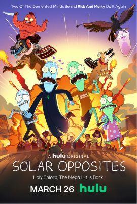 Solar Opposites 2. évad (2021) online sorozat