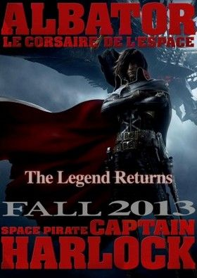 Space Pirate Captain Harlock (2013)