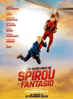 Spirou és Fantasio kalandjai (2018) online film
