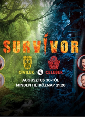 Survivor - Celebek a civilek ellen! 5. évad (2021) online sorozat