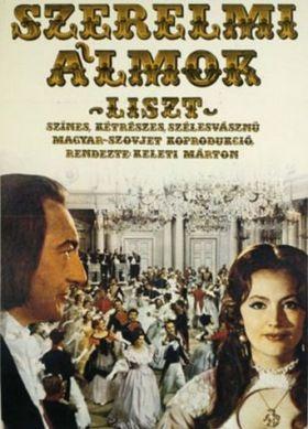 Szerelmi álmok - Liszt (1970) online film