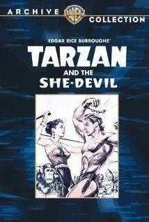 Tarzan és az ördögi nő (1953) online film