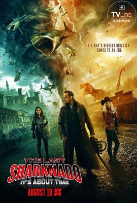 The Last Sharknado: It's About Time (2018) online film