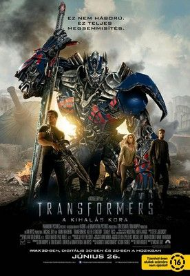 Transformers: A kihalás kora (2014) online film
