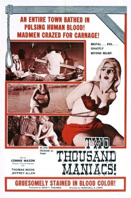Two Thousand Maniacs! (1964) online film