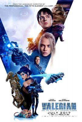 Valerian és az ezer bolygó városa (2017) online film