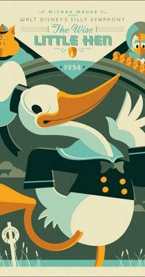 Walt Disney - Az okos tyúkanyó (1934) online film