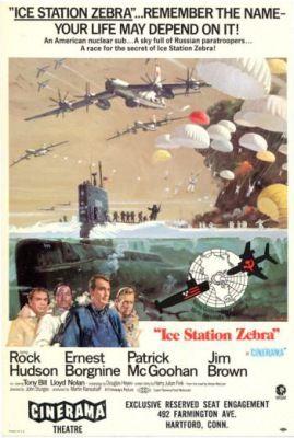 Zebra kutatóbázis (1968) online film