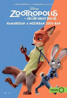 Zootropolis - Állati nagy balhé (2016) online film